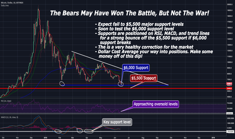 BTCUSD: The Bears May Have Won The Battle, But Not The War