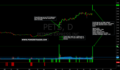 PETS: $PETS Daily Chart Setup + Trade Idea