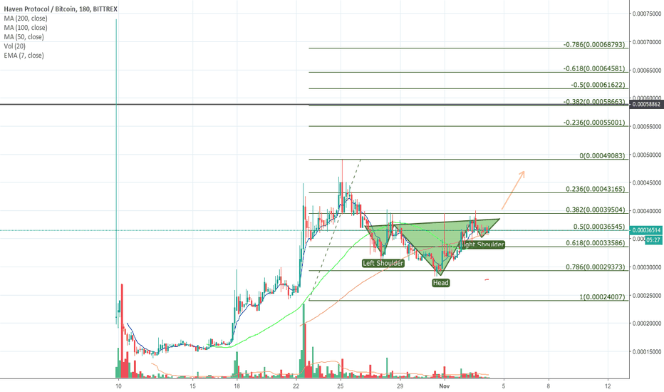 XHVBTC: Haven ready for the next leg up!