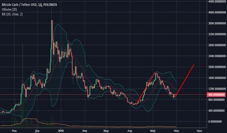 BCHUSDT: BitcoinCash 2000$ к июлю?
