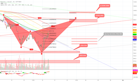 BTCUSD: Bearish Shark Pattern일 경우