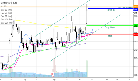 NTNX: NTNX Bullish Swing
