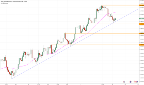 NZDCAD: NZDCAD – korekta do linii trendu i powrót do wzrostów?