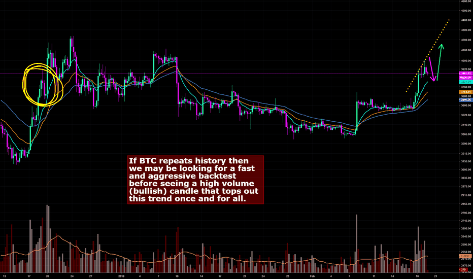 BTCUSD: BTC Cyclic Patterns May Suggest One More Leg to the Upside