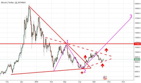 BTCUSD: BTC/USD Long. Third global wave. Третья глобальная волна