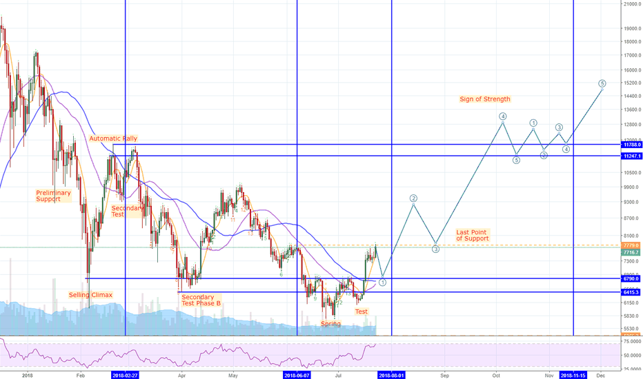 BTCUSD: Obvious Wyckoff Structure in BTC/USD market