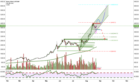 BTCUSD: Hammer Candle initiated new buying wave
