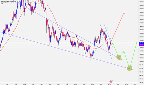 XAUUSD: GOLD will go down in the next month ?