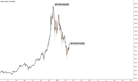 BTCUSD: Bitcoin hit $10,000. Nice. You just 100% now to get back to $20k