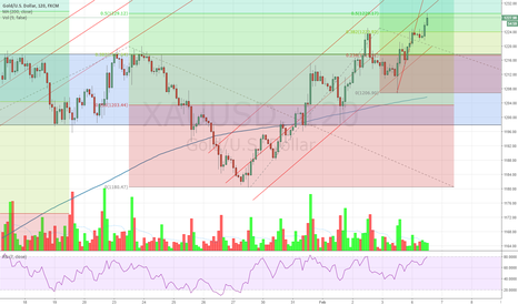 XAUUSD: bearish outlook on gold