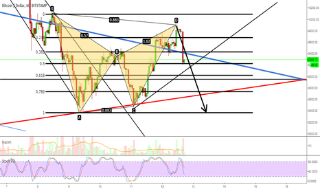 BTCUSD: #BTCUSD BTC DOLLAR BEAR-BAT PATTERN