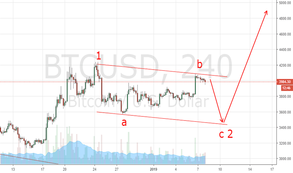 BTCUSD: BTC USD nothing change for down move