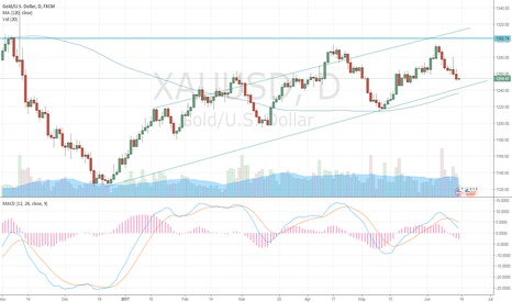 XAUUSD: gold still bullish