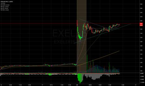 EXEL: EXEL day trade