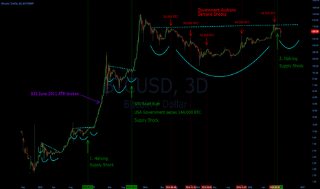 BTCUSD: Bitcoin Demand/Supply Shock chart