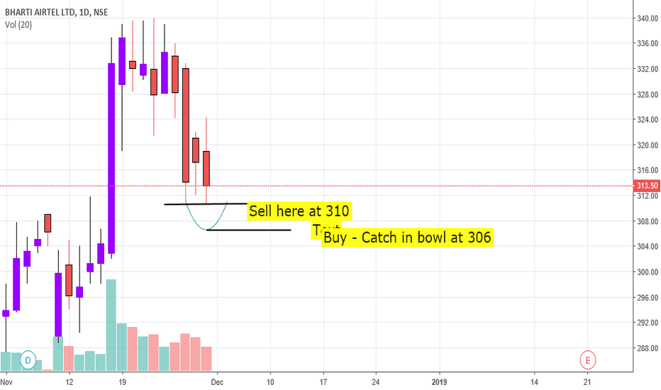 BHARTIARTL: Sell airtel signal week and network slow - Intraday Call