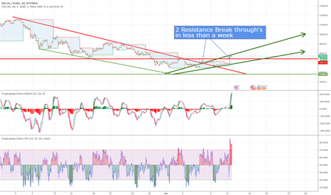 BTCUSD: Has BTC reached the bottom?
