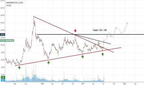 WATERBASE: On request: Waterbase: Bullish triangle breakout