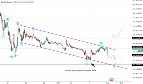 BCHUSDT: BCH another possible trend reversal