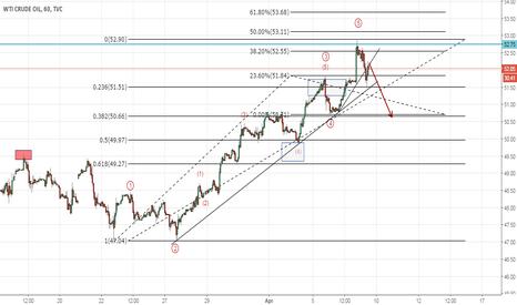 USOIL: Crude Oil Updated Count (Elliott Wave Analysis)