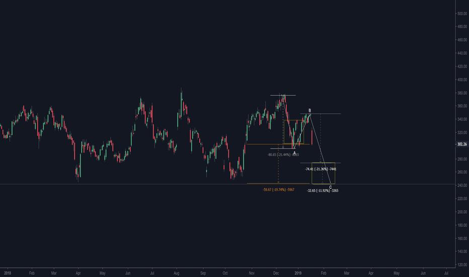 TSLA: TSLA before a further 19% fall...