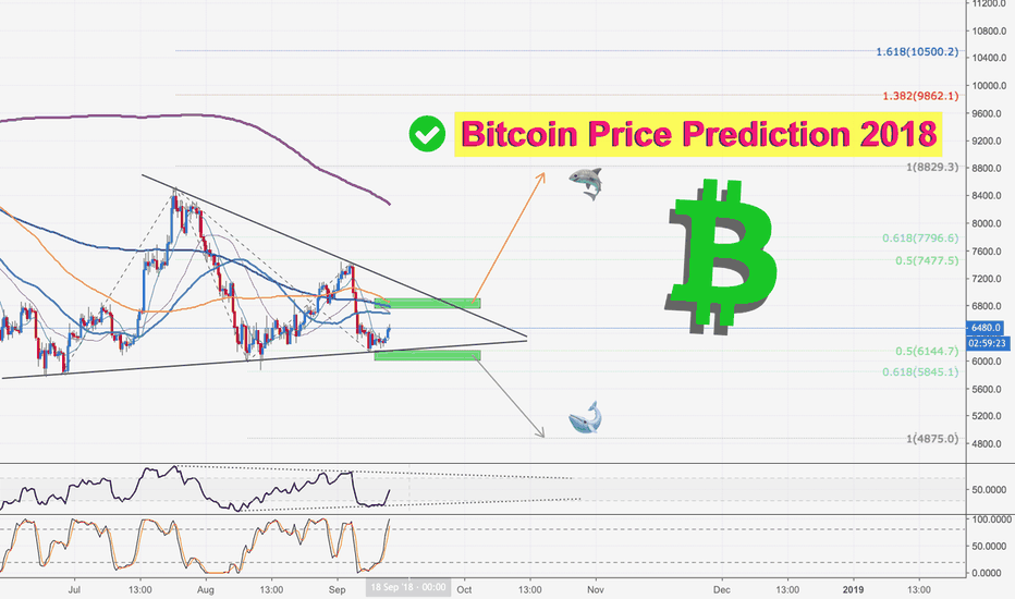 BTCUSD: Bitcoin: Are you with Sharks or Whales?
