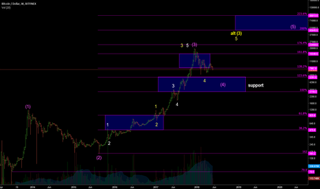 BTCUSD: BTCUSD Elliott Wave - Big Picture Perspective