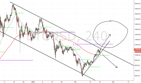 BTCUSD: Bitcoin at decision point
