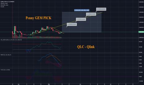 QLCBTC: QLC - Qlink - Penny GEM PICK 100% Profit Potential