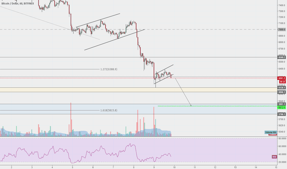 BTCUSD: One more leg down for Bitcoin