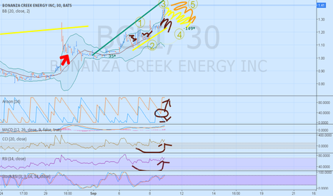 BCEI: Bonanza Creek technicals