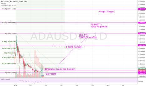 ADAUSDT: $ADA #Cardano Train left the station - Target 2 USD this year!