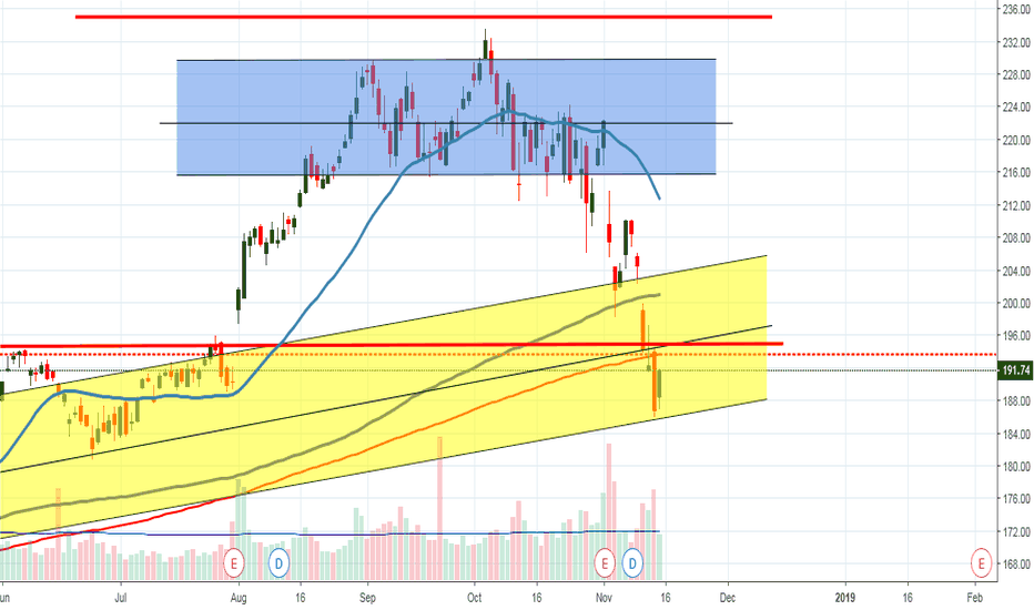 AAPL: Expecting short term upward movement here
