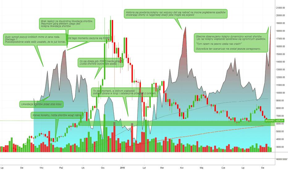 BTCUSD: Rola pozycji krótkich na rynku Bitcoina