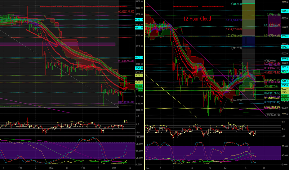 BTCUSD: BTCUSD Have we bottomed, Inv. H&S? 7/12 EVE 30M/4H