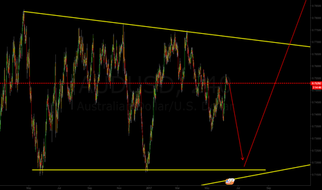 AUDUSD: finaly next week audusd have to drop