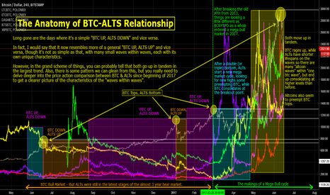BTCUSD: Anatomy of BTC-ALTS Relationship: Makings of a MEGA Bull Cycle