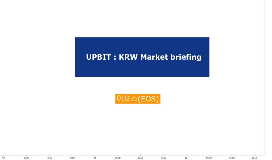 BTCUSD: 이오스(EOSKRW) 업비트 원화마켓 기준의 투자시점
