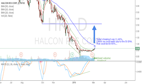 HK: Long in Halcon Resource