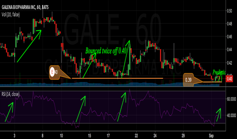 GALE: Gale bounces off whenever RSI hit 0.30