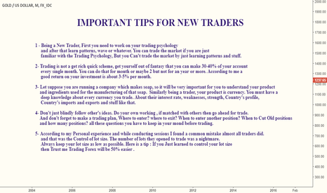 XAUUSD: IMPORTANT TIPS FOR NEW TRADERS