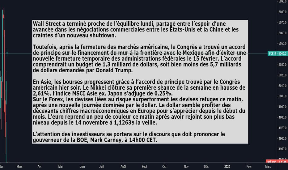 FCE1!: Briefing de l'actualité du 12.02.19