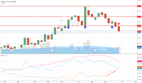 Z: Zillow: Support Levels Tagged after Price Breakdown