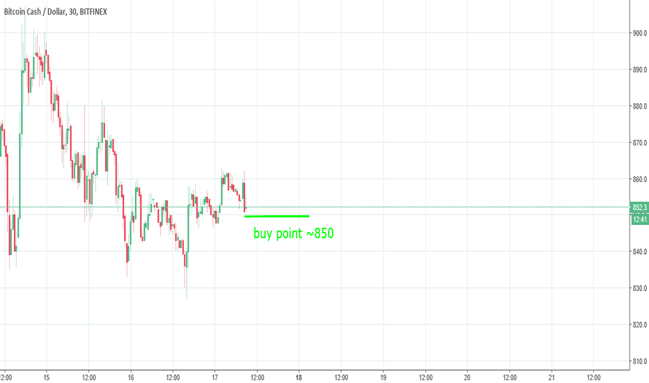 BCHUSD: Bitcoincash buy point