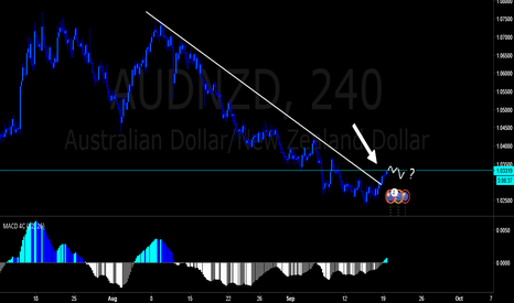 AUDNZD: Looking for long term long on AUDNZD