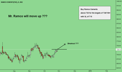 RAMCOCEM: Mr. Ramco will move up ???
