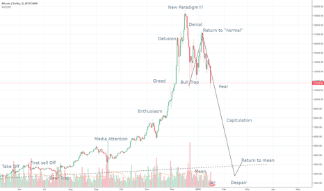 BTCUSD: BTC bubble mania, pop scenario - UPDATE