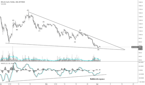BCHUSD: How to spot a potential bottom on Bitcoin cash