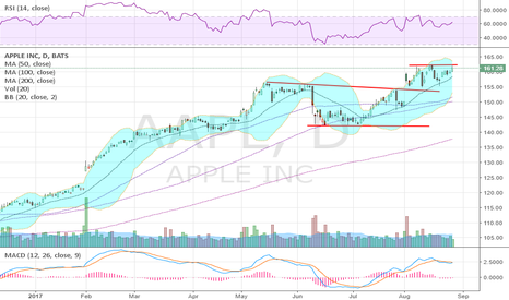 AAPL: Seems to want to break out again