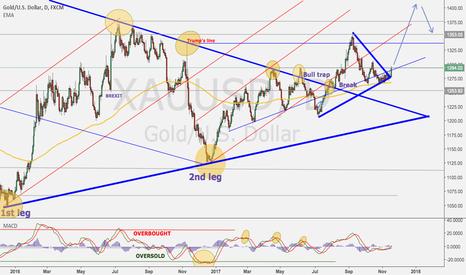 XAUUSD: Gold next move